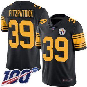 Mens Steelers Minkah Fitzpatrick Jersey 100th